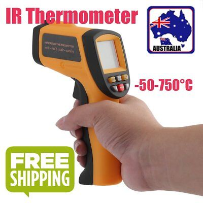 Digital Non-Contact Infrared IR Thermometer Temperature Laser Gun -50℃ to 750℃ B