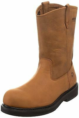 7973800801e Men's Wolverine INGHAM DURASHOCKS STEEL-TOE WELLINGTON BOOT, W06683