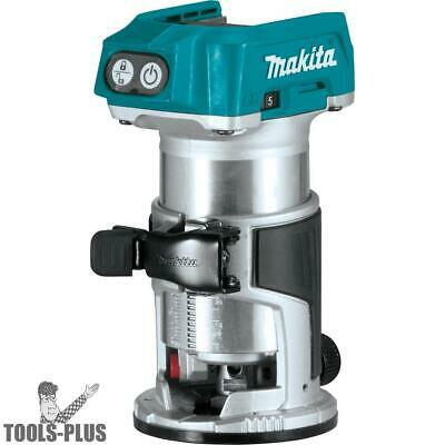 Makita XTR01Z 18V LXT Li-Ion Brushless Cordless Compact Router (Tool Only) New