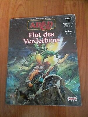 Ad&d6 Flut Des Verderbens Advanced Dungeons & Dragons Ad&d Ovp Folie