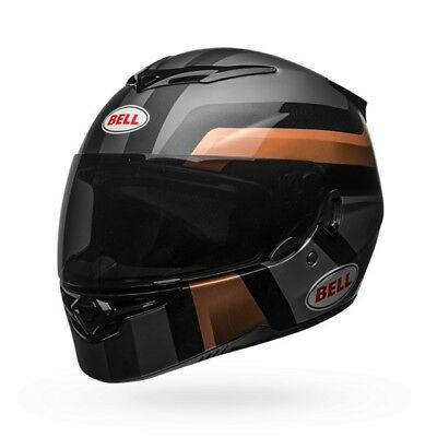 Bell 2018 RS 2 RS2 Full Face Motorcycle Helmet Empire Black Copper - SR