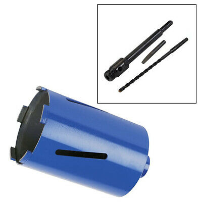 107Mm X 150Mm Diamond Core Drill + 100Mm Hex Arbor + Pilot Drill