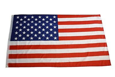 NEW American Flag All-Weather Outdoor Polyester Show USA Patriotic Support 3'X5'