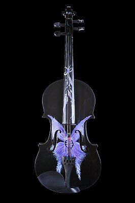 butterfly violin painting