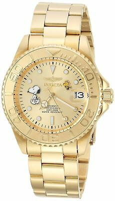 Invicta 24788 Character Collection Men's 40mm Gold-Tone Steel Automatic Watch