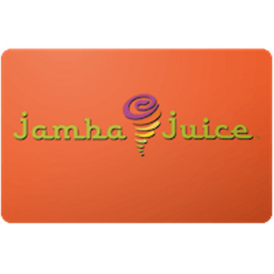 Jamba Juice Gift Card $50 Value, Only $35.49! Free Shipping!