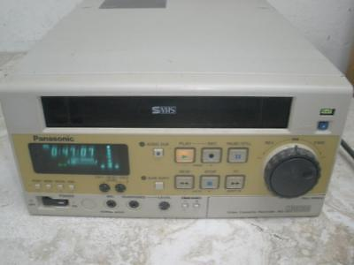 Panasonic AG-MD830 Video Cassette Recorder Working