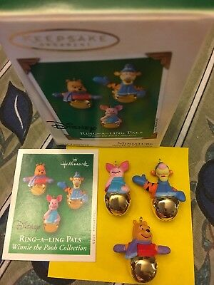 Hallmark Ornament Disney Pooh Ring-A-Ling Pals 2003 New
