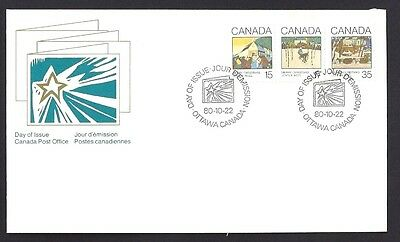 Canada   # 870 - 872  Combo   Christmas  Cards      New 1980 Unaddressed
