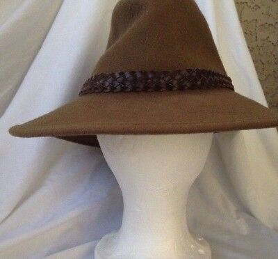 Vintage Boy Scouts of America Scout 100% Wool Campaign Hat 7.5 w