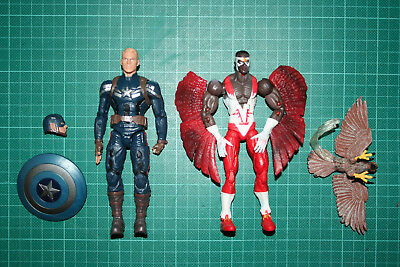 Marvel Legends Captain America Falcon Avengers Civil War Two Twin Pack
