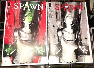 Spawn #282 Color + Black and White Variant Cover Lot - Image 2018