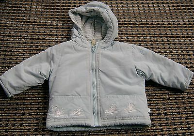 Micro Motion Baby Boys Padded Jacket Sz 0 - 3 Months New Without Tags