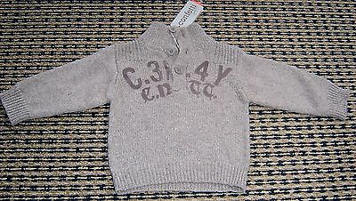 Confetti For Absorba French Baby Boys Cotton /wool Jumper Sz 3 Months Brand New