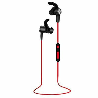 Bluetooth Headphones Wireless Sports aptX Stereo Earbuds Sweat-Proof Secure Fit