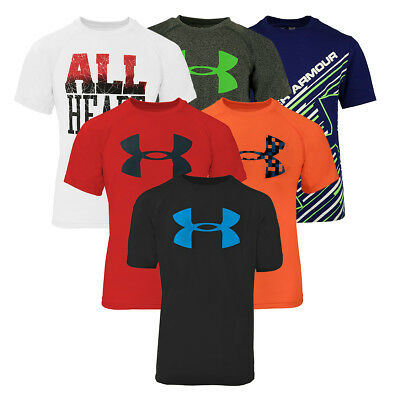 Under Armour Boys' Short Sleeve T-Shirt 3-Pack