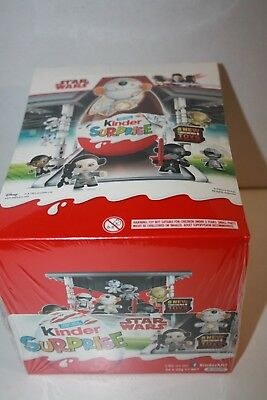 1 Box of Kinder Surprise STAR WARS 24 pieces box