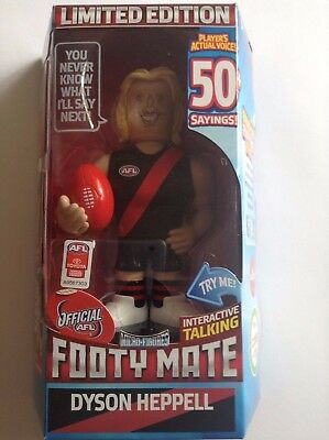 LIMITED EDITION FOOTY MATE - DYSON HEPPELL (ESSENDON) Brand New!