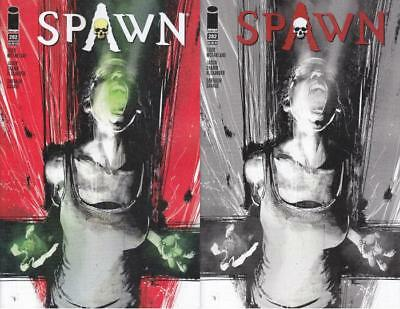 SPAWN #282 A & B B/W ALEXANDER VARIANT SET 1st APPEARANCE OF MAJOR NEW CHARACTER