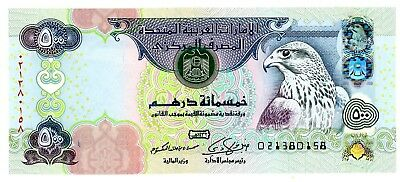 United Arab Emirates … P-32d … 500 Dirhams … 2011 … Choice*UNC*.