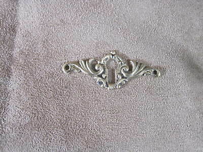 Keyhole Cover Antique Solid Cast Brass Escutcheon 1 Available