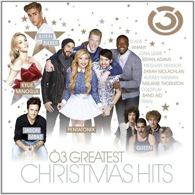 Ö3 Greatest Christmas Hits +Justin Bieber, Kylie Minogue, Queen   Cd New+