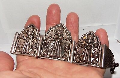 Vintage Old Antique Ethnic Tribal Silver Bracelet Heavy 58 GRAMS
