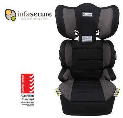 Br New Infa Secure Vario Trend Booster Car Seat 4-8 years Kid Child Toddler Grey
