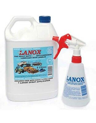 Inox Lanox MX4 Heavy Duty Anti Corrosion Lubricant 5 Litre Applicator bottle