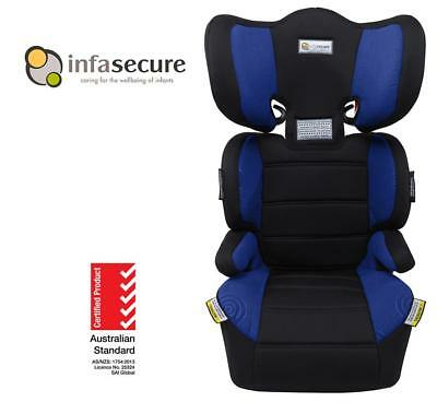 Br New Infa Secure Vario Trend Booster Car Seat 4-8 years Kid Child Toddler Blue