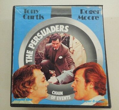 SUPER 8mm - SET OF 3 FILMS - THE PERSUADERS - CHAIN OF EVENTS