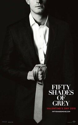 FIFTY SHADES OF GREY great original advance 27x40 D/S movie poster (s01)