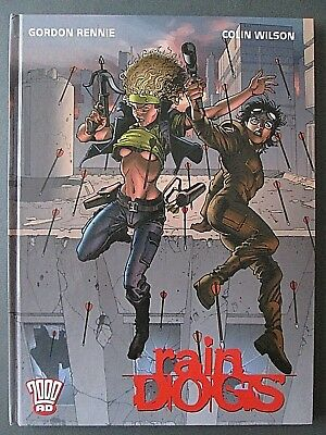 Rain Dogs 2000 AD Graphic Novel Comic Hardback Book Rebellion 2002 NEW