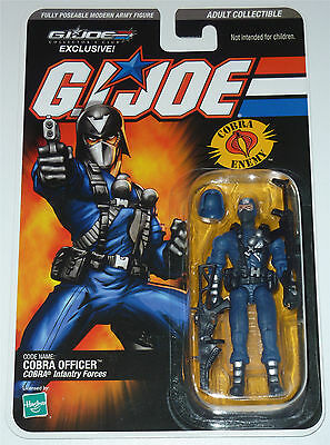 G.i.joe 2008 Cobra Officer Moc Neu & Ovp Gi Joe Cobra Club Exclusive Limited
