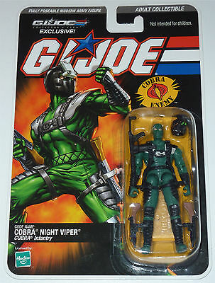 G.i.joe 2008 Night Viper Moc Neu & Ovp Gi Joe Cobra Club Exclusive Limited