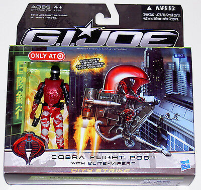 G.i.joe 2010 Rise Of Cobra Cobra Flight Pod With Elite Viper Neu & Ovp Gi Joe