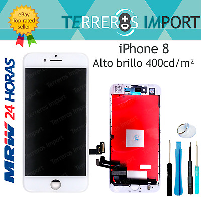 Pantalla Completa LCD Display Tactil iPhone 8 A1863 A1905 A1906 Blanco Blanca