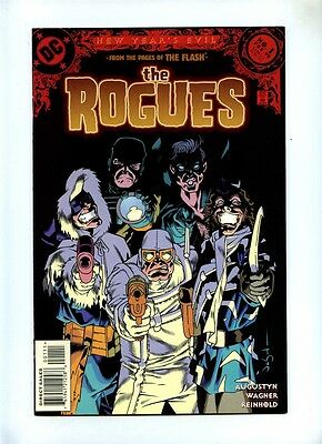 Rogues #1 - DC 1998 - VFN+ - Villains from the Flash