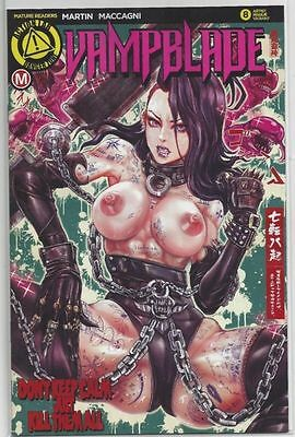 Vampblade #8 Variant Edition Artist Cover Risque Mature Action NM-