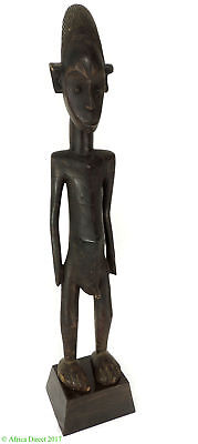 Mangbetu Male Carving Scarification Congo Africa 36 Inch SALE WAS $590