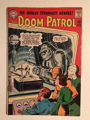 The Doom Patrol #86 ==> Vg- 1St Issue Of Their Own Series Dc Comics 1964
