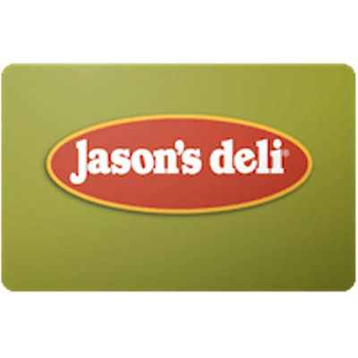Jason's Deli Gift Card $25 Value, Only $22.00! Free Shipping!