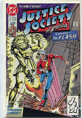 Justice Society of America #1 (Apr 1991, DC), VF/NM