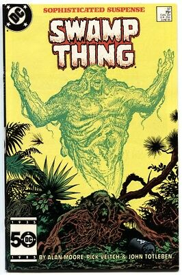 Swamp Thing #37-1985-High Grade-First Hellblazer--John Constantine!