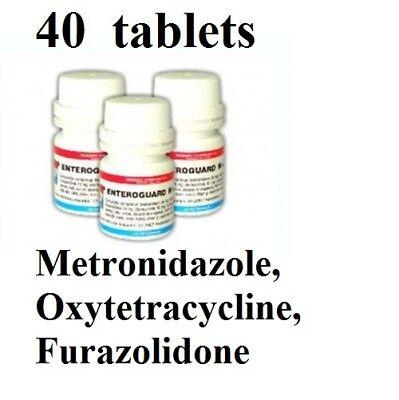 Dogs and Cats antibiotics Metronidazol, Oxytetracycline, Furazolidone