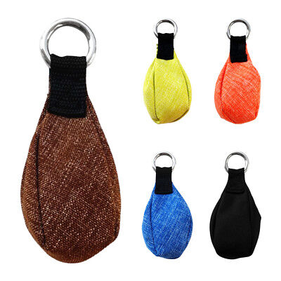 300g /10.58 oz Outdoor Tree Climbing Arborist Rigging Throw Weight Bag Pouch