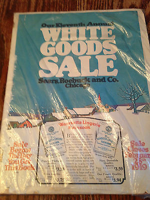 1919 Sears & Roebuck Vintage White goods sale Catalouge Catalog