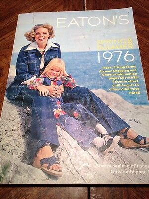 1976 Eatons Spring And Summer Vintage Catalog