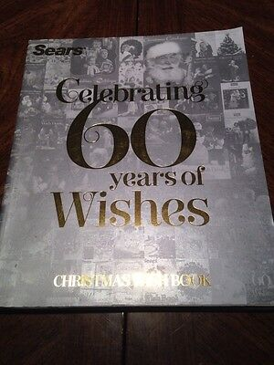 2012 Sears Christmas Wishbook Catalog 60 Years Of Wishes Anniversary