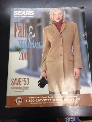 2001 Sears Fall And Winter Catalog